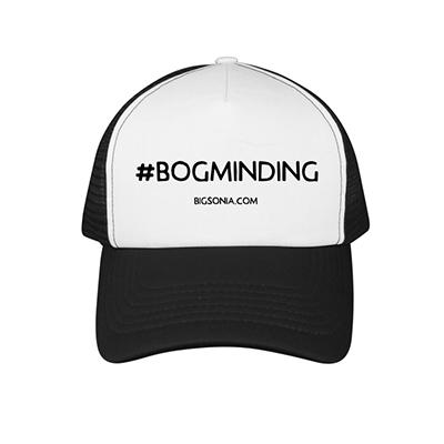 c243692a004 Bogminding Flat Bill Trucker Hat - Big Sonia